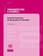 Inclusión financiera de las pymes en el Ecuador