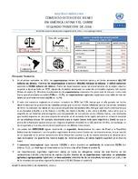 Boletín estadístico de comercio exterior de bienes en América Latina y el Caribe. Segundo trimestre de 2016 (Nro. 24)