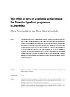 The effect of ICTs on academic achievement: the Conectar Igualdad programme in Argentina