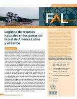 Logística de recursos naturales en los países sin litoral de América Latina y el Caribe