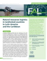 Natural resources logistics in landlocked countries in Latin America and the Caribbean