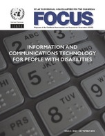 Information and communications technology for people with disabilities