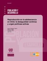 Reproducción en la adolescencia en Chile: la desigualdad continúa y urgen políticas activas