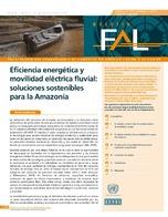 Eficiencia energética y movilidad eléctrica fluvial: soluciones sostenibles para la Amazonía