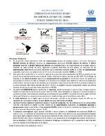 Boletín estadístico de comercio exterior de bienes en América Latina y el Caribe. Tercer trimestre de 2016 (Nro. 25)