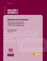 Reproducción temprana: diferencias entre grandes regiones del mundo al inicio y al final de la adolescencia