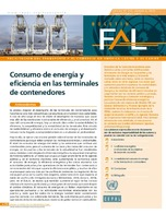 Energy consumption and container terminal efficiency