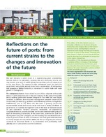 Reflections on the future of ports: from current strains to the changes and innovation of the future