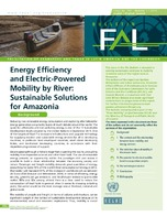 Energy Efficiency and Electric-Powered Mobility by River: Sustainable Solutions for Amazonia