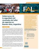 Gobernanza de la seguridad vial: resultados del taller de expertos en Buenos Aires, Argentina