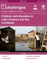 Children and disasters in Latin America and the Caribbean