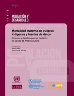 Mortalidad materna en pueblos indígenas y fuentes de datos: alcances y desafíos para su medición en países de América Latina