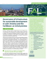 Governance of infrastructure for sustainable development in Latin America and the Caribbean: An initial premise