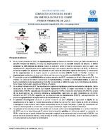 Boletín estadístico de comercio exterior de bienes en América Latina y el Caribe. Primer trimestre de 2017 (Nro. 27)