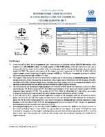 Statistical Bulletin: International Trade in Goods in Latin America and the Caribbean - second quarter 2017 - 28