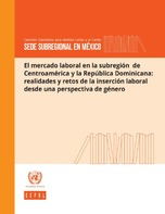 El mercado laboral en la subregión de Centroamérica y la República Dominicana: realidades y retos de la inserción laboral desde una perspectiva de género