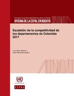 Escalafón de la competitividad de los departamentos de Colombia 2017