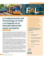 Implementation of the Transantiago system in Chile and its impact on the transport sector labour market
