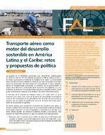 Transporte aéreo como motor del desarrollo sostenible en América Latina y el Caribe: retos y propuestas de política