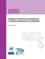 Inclusión financiera de las pequeñas y medianas empresas en la Argentina