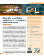 Desarrollo y conflictos asociados a la construcción de infraestructura