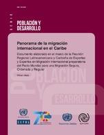 Panorama de la migración internacional en el Caribe