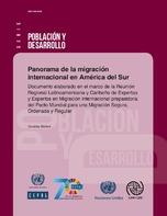 Panorama de la migración internacional en América del Sur