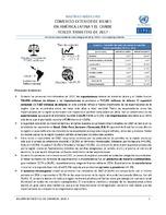 Boletín estadístico de comercio exterior de bienes en América Latina y el Caribe. Tercer trimestre de 2017 (Nro. 29)