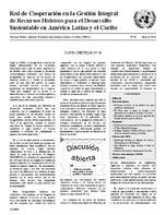 Carta Circular de la Red de Cooperación en la Gestión Integral de Recursos Hídricos para el Desarrollo Sustentable en América Latina y el Caribe N° 48