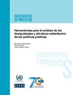 Herramientas para el análisis de las desigualdades y del efecto redistributivo de las políticas públicas