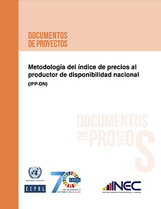 Metodología del índice de precios al productor de disponibilidad nacional (IPP-DN)