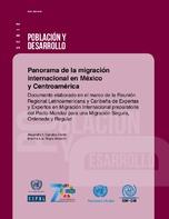 Panorama de la migración internacional en México y Centroamérica