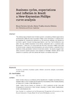 Business cycles, expectations and inflation in Brazil: a New-Keynesian Phillips curve analysis