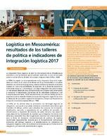 Logística en Mesoamérica: resultados de los talleres de política e indicadores de integración logística 2017
