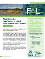 Advances in the classification of inland waterways in South America