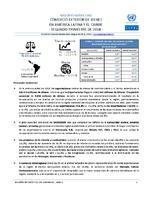 Boletín estadístico de comercio exterior de bienes en América Latina y el Caribe. Segundo trimestre de 2018 (Nro. 32)