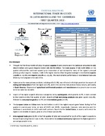 Statistical Bulletin: International Trade in Goods in Latin America and the Caribbean - first quarter 2018 - 31