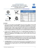 Statistical Bulletin: International Trade in Goods in Latin America and the Caribbean - second quarter 2018 - 32