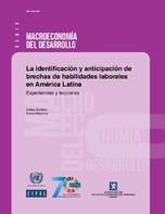 La identificación y anticipación de brechas de habilidades laborales en América Latina: experiencias y lecciones