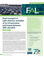 Road transport in Latin America: evolution of its infrastructure and impact between 2007 and 2015