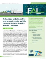 Technology and alternative energy use in motor vehicle transport in Latin America and the Caribbean