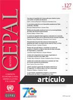 La matriz de competitividad argentina: evolución de la inserción internacional del país ante la controversia de los recursos naturales