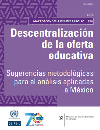 Decentralized provision of education: Methodological suggestions for analysis, with application to Mexico