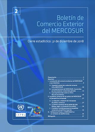 Boletín de Comercio Exterior del MERCOSUR, Nº 2. Cierre estadístico: 31 de diciembre de 2018