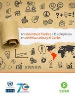 Los incentivos fiscales a las empresas en América Latina y el Caribe