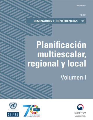 Planificación multiescalar, regional y local. Volumen I