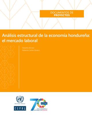 Análisis estructural de la economía hondureña: el mercado laboral