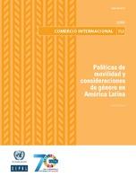 Políticas de movilidad y consideraciones de género en América Latina
