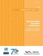 Imported inputs and export performance: Evidence from Chilean manufacturing industries