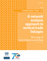 A network analysis approach to vertical trade linkages: the case of Latin America and Asia